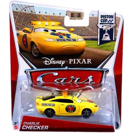 Disney Cars Series 3 Charlie Checker 1:55 Diecast