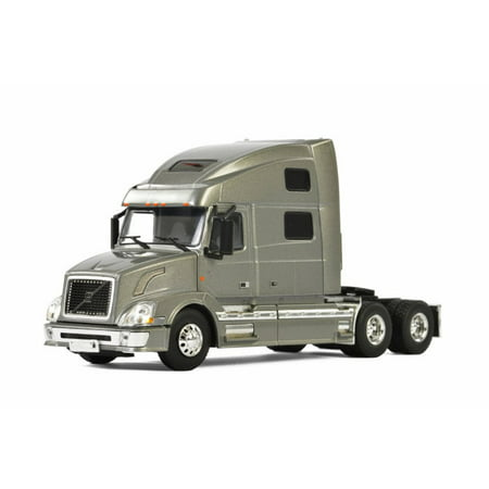 Wsi Collectibles - Volvo VN 780 6x4 3 Axle Truck, Silver - WSI Models 33-2030 - 1/50 Scale Diecast Model Toy Car