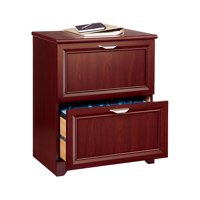 Realspace Magellan Collection 2-drawer Lateral File Cabinet, 30in.h X 23 1/2in.w X 16 1/2in.d, Classic Cherry