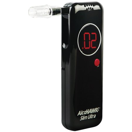 Alcohawk® Precision Ultra Slim Breathalyzer With 50-pack Of Pt500 Mouthpeices