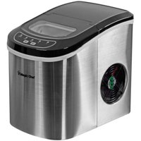 Magic Chef 27-Lb. Portable Countertop Ice Maker in Stainless Steel