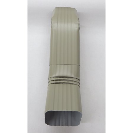 Aluminum Offset Downspout Elbow (3x4 A, CLAY)
