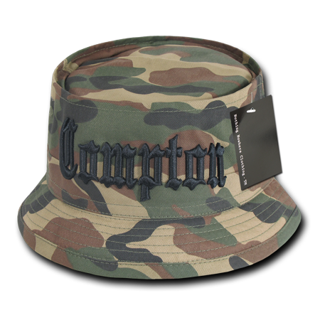 Nothing Nowhere City Fisherman Bucket Hat Cap For Men Women Compton Black -  Walmart.com ac77a0cada4