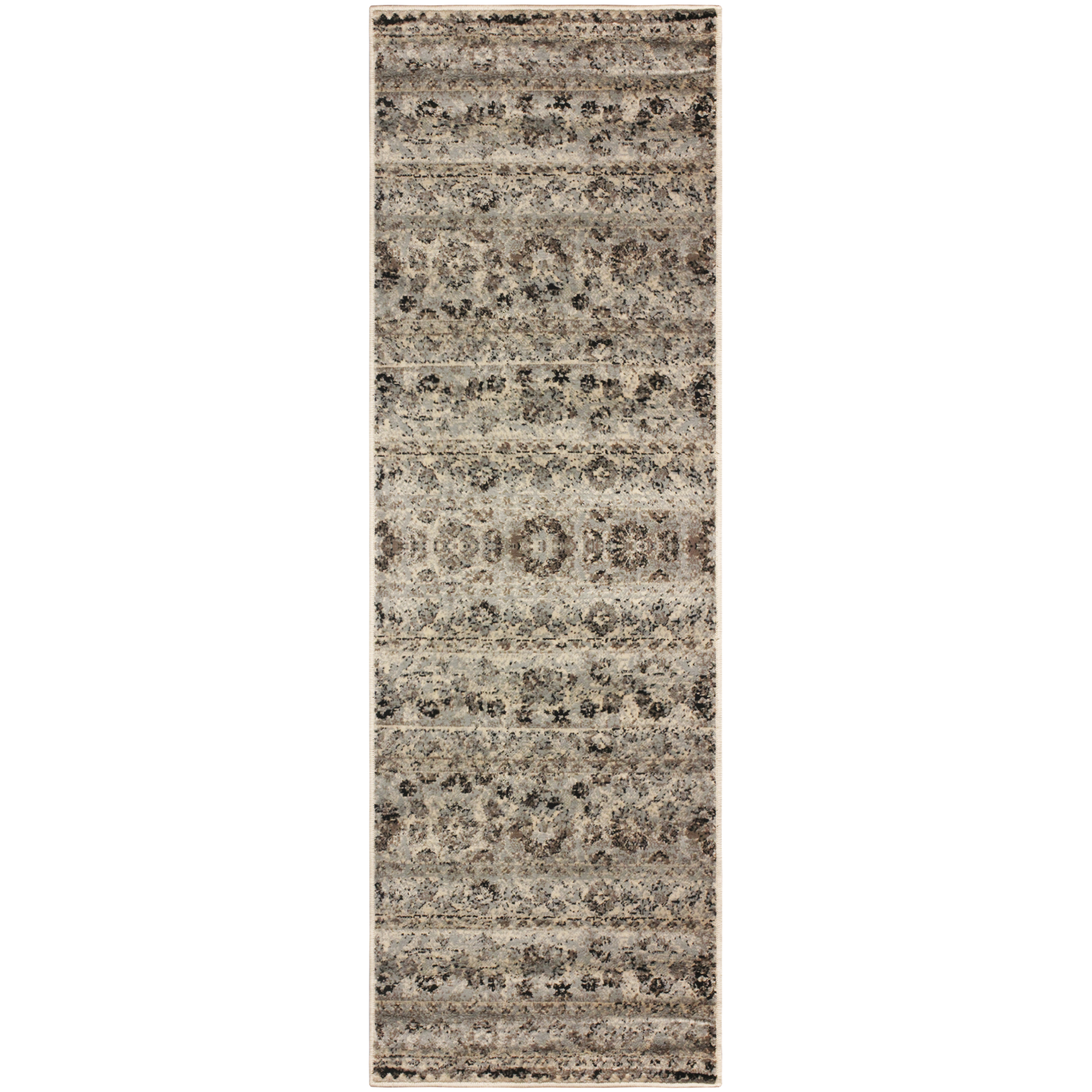 Fawn Floral Area Rug Collection Walmart Com
