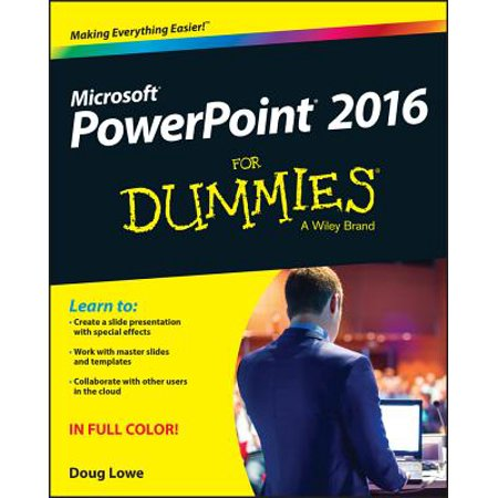 PowerPoint 2016 for Dummies (Point Full Dummy Set)
