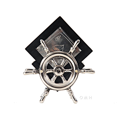 Old Modern Handicrafts Coaster On Ship Wheel (Set of 6) by Overstock