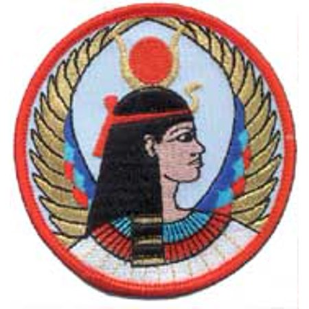 Sewing Decorative Patches Egyptian Winged Isis Queen of Heaven and Earth Sew On Patch