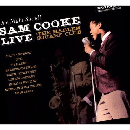 SAM COOKE:LIVE AT THE HARLEM SQUARE C (Vinyl)