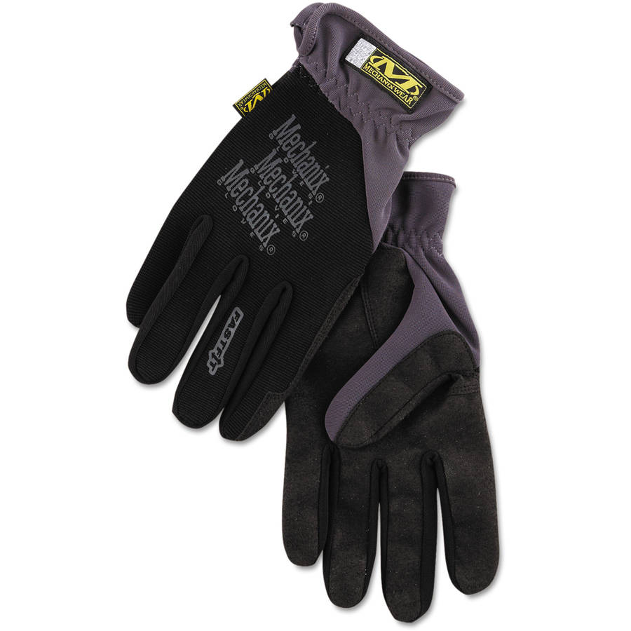 Mechanix Wear FastFit Work Gloves, Black, Extra-Large