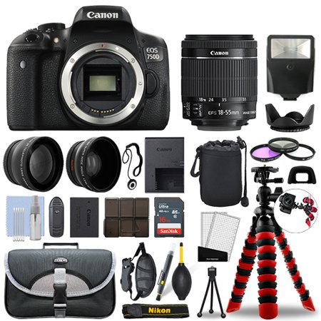 Canon 750D / T6i SLR Camera with 18-55mm STM+ 16GB 3 Lens Ultimate Accessory Kit