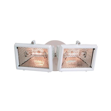 Designers Fountain Q152-06  Quartz Halogen Security Light in White - 06 Designers Fountain Security Lighting