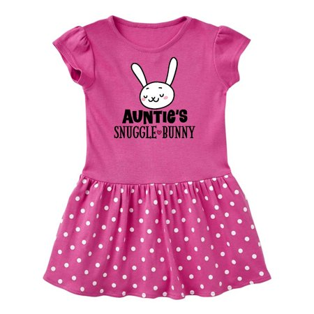 Auntie Snuggle Bunny Easter Outfit Infant Dress