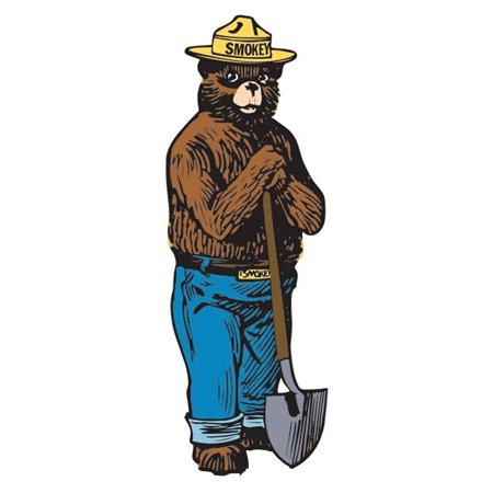 Advanced Graphics 797 Smokey the Bear- 72