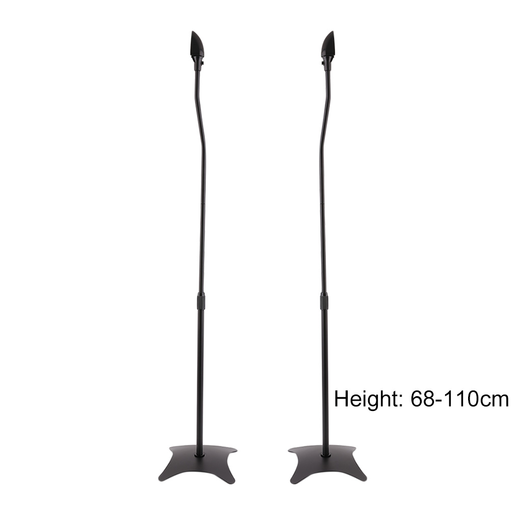 A Pair Professional Microphone Stand Holder Universal Surround Sound Stand Set by