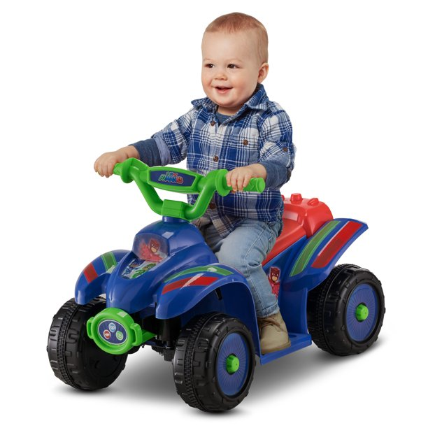 PJ Masks Toddler Quad Ride-On Rechargeable Toy by Kid Trax