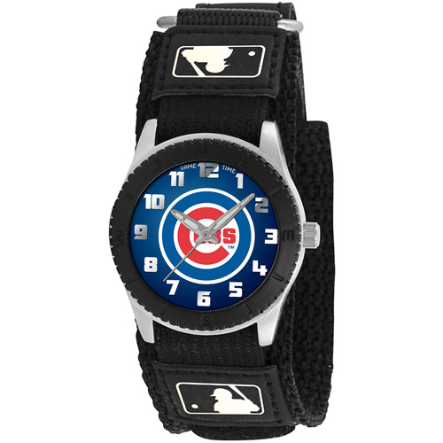 Game Time MLB Men's Chicago Cubs Rookie Series Watch, Black
