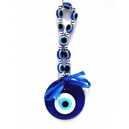 Blue Evil Eye Hanging Ornament for Protection (With a Betterdecor Charm)-012 ()