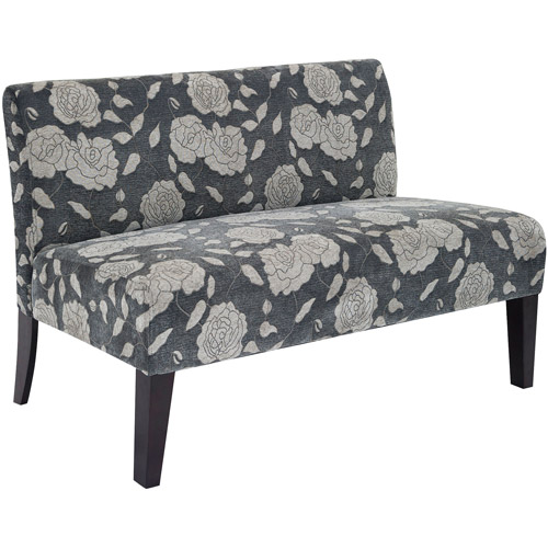 Rose Deco Loveseat, Multiple Colors