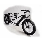 Fat tire tandem electric bike for two people