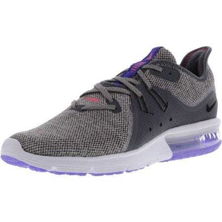 release date 3a29b 389da Nike Men's Air Max Sequent 3 Dark Grey / Black - Moon Particle Ankle-High  Running Shoe 9.5M | Walmart Canada