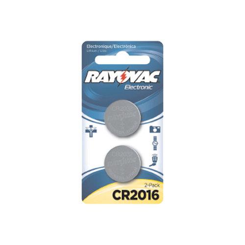 Rayovac Lithium 2016 Batteries, 2pk
