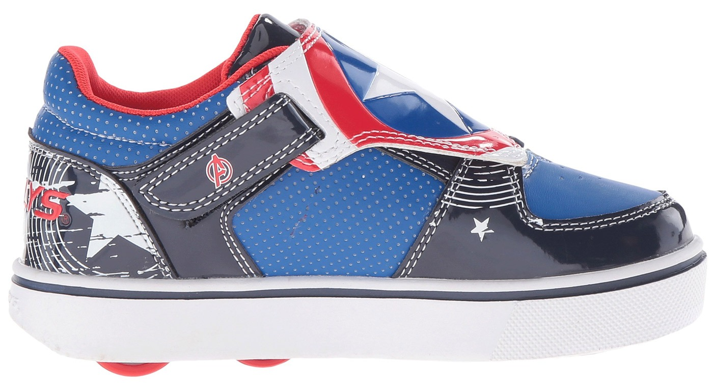 Heelys Kids Twister X2 Captain America Roller Shoes by