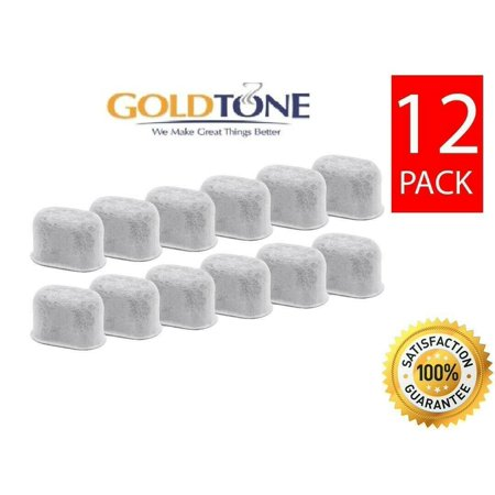 (12) GoldTone Charcoal Water Filters for ALL Breville Coffee Makers, BWF100 (Replacement Blade For The Breville Blend Active Blenders)