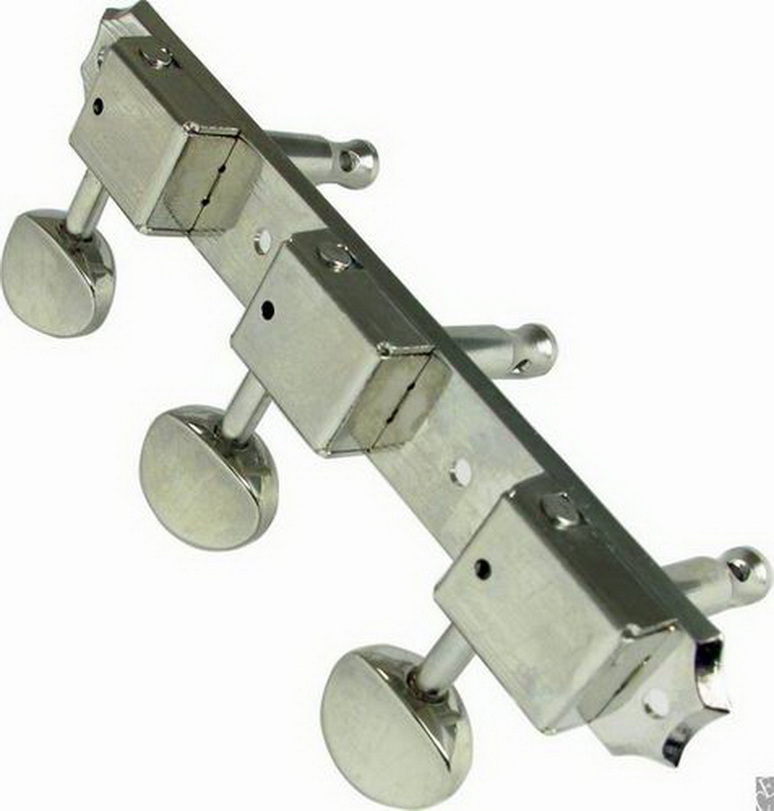 CE Distribution Tuning machine - Grover, Vintage, 3/Side, Nickel
