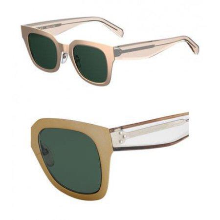 e64a795466d2 Celine - Sunglasses Celine Cl 41451  S 0DDB Gold Copper   QT green lens -  Walmart.com