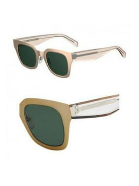 7aa952fc6a3 Product Image Sunglasses Celine Cl 41451  S 0DDB Gold Copper   QT green lens