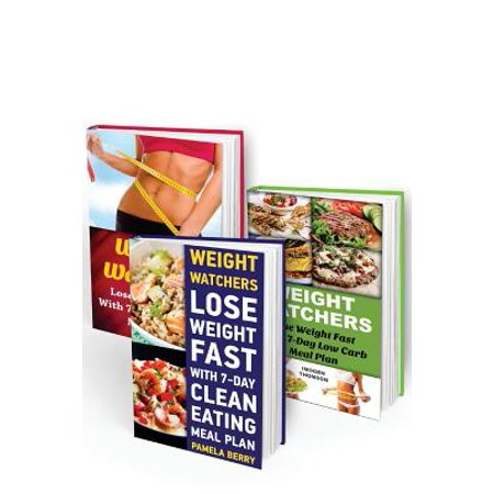 Weight Watchers 7-Day Start Box Set 3 in 1: Lose Weight Fast with 3 Effective Weight Watchers Meal Plans: (Weight Watchers Simple Start, Weight Watche
