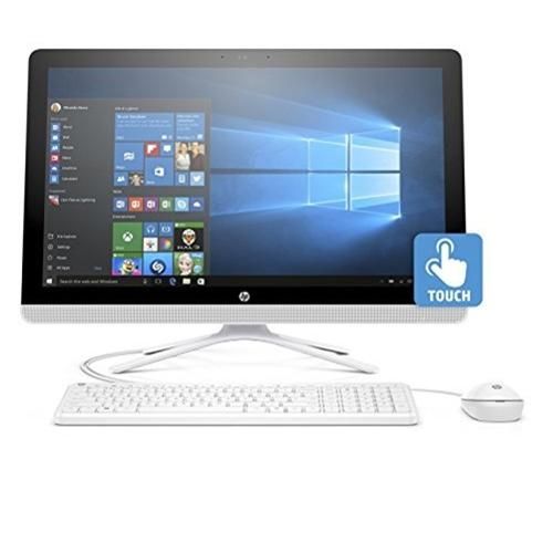 "HP 24-g020 All-in-One Desktop PC with AMD A8-7410 Processor, 8GB Memory, 23.8"" Touchscreen, 1TB Hard Drive and Windows 10 Home"
