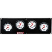 Quickcar Racing Products White Face Gauge Panel Assembly P/N 61-7021