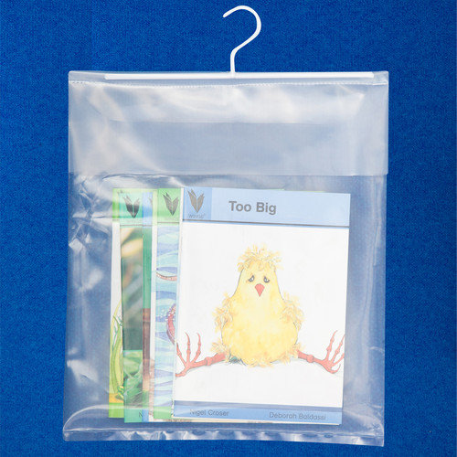Classroom Innovations LLC Book Bag with Hanger (Set of 10)