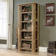 Sauder Boone Mountain 5 Shelf Bookcase, Craftsman Oak Finish