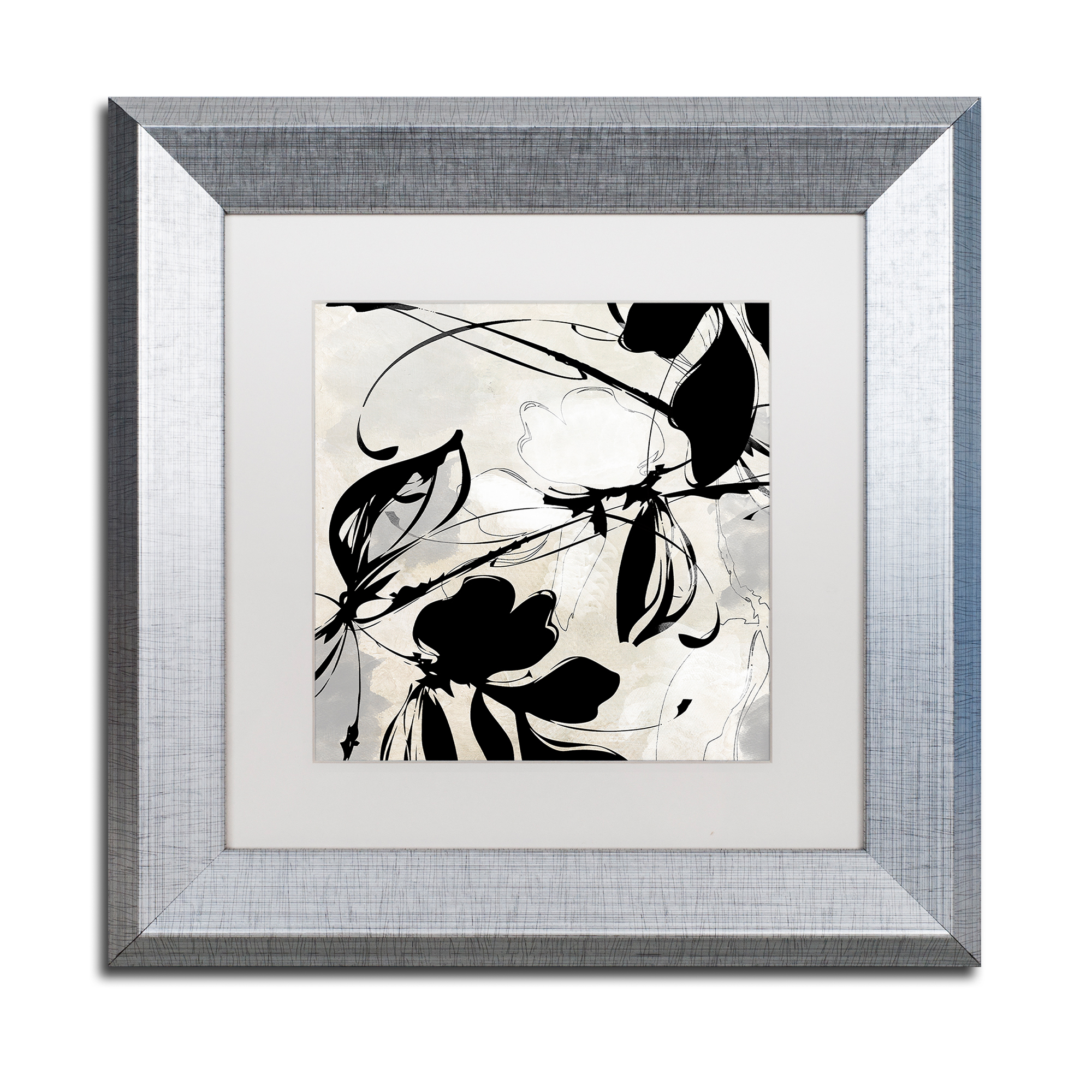 Trademark Fine Art 'Manifesto' Silver Framed Art by Color Bakery