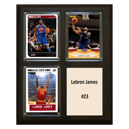 C&I Collectables NBA 8x10 Lebron James Cleveland Cavaliers 3-Card