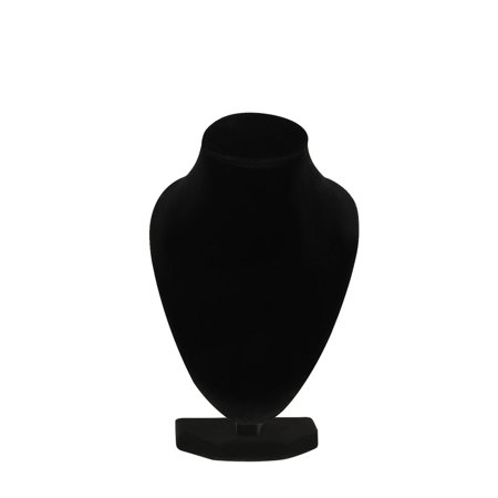 Durable Black Mannequin Necklace Jewelry Pendant Display Stand Holder Show Decorate Bracelet Jewelry Organizer, Black - image 5 of 7