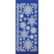 Dazzles Stickers-Snowflakes-White