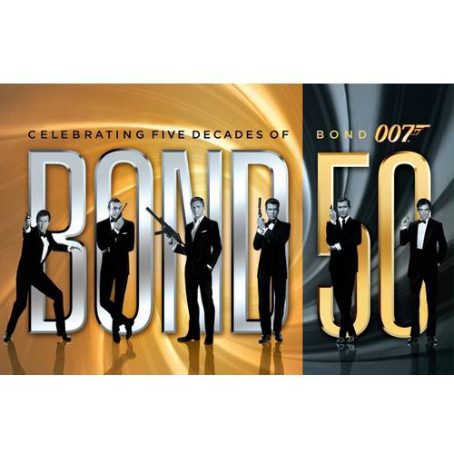 Bond 50: Celebrating Five Decades Of Bond 007 (With Skyfall) (Blu-ray) (Widescreen) by Mgm