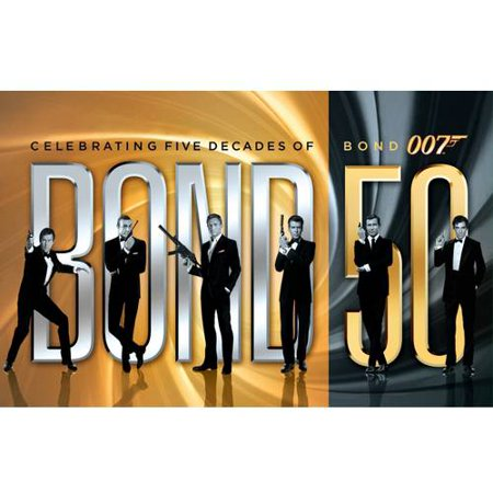 Bond 50: Celebrating Five Decades Of Bond 007 (With Skyfall) (Blu-ray)