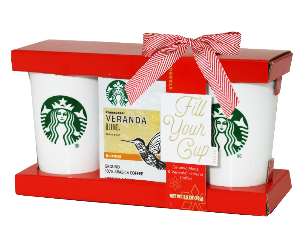 Starbucks Coffee for Two Holiday Gift Set, 3 pc by STARBUCKS COFFEE CO