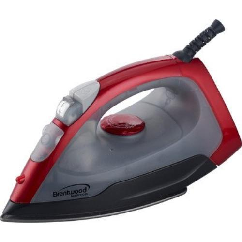 Brentwood [mpi-54] Non-stick Steam/dry, Spray Iron In Red - 1000 W - Red (mpi54)