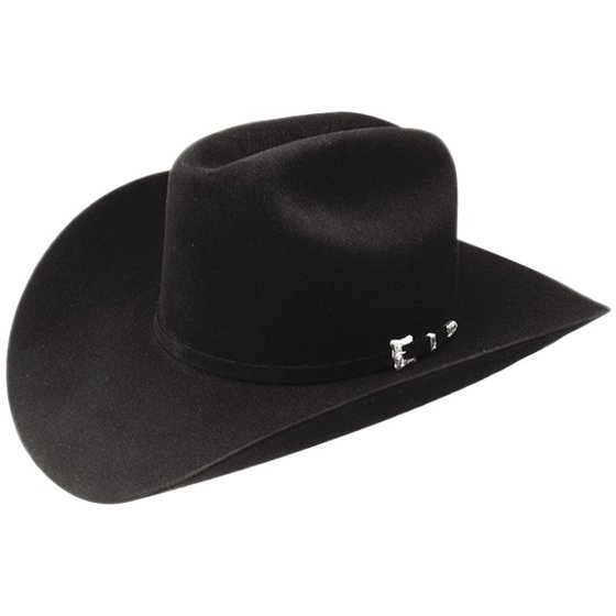 3d942da9bfacb Resistol - Resistol Mens 20X Black Gold Open Crown Felt Cowboy Hat ...