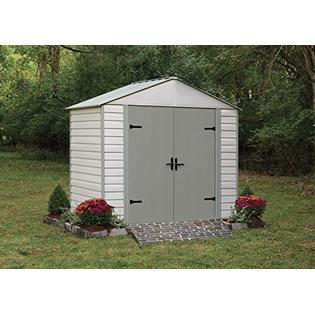 Viking® Series 8 ft. x 5 ft. Vinyl-Coated Steel Storage Shed(8 x 5 ft.2,4 x 1,4 m)