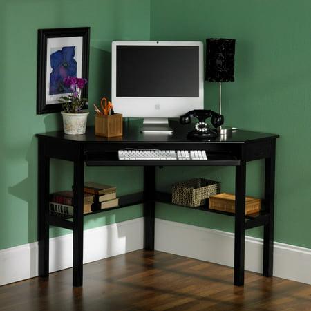 Black Corner Computer Desk ()