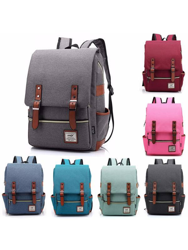 Fashion Unisex Travel Laptop School Backpacks Bookbag Shoulder Bag Satchel Rucksack