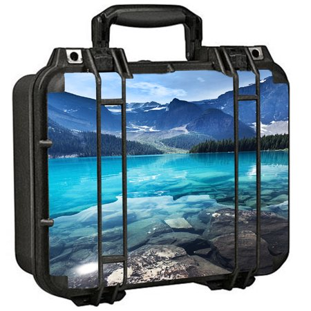 Skins Decals For Pelican 1400 Case / Mountain Lake, Clear Water
