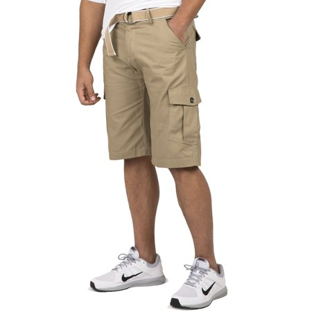 Vibes Gold Label Men Khaki Cotton Canvas Cargo Shorts Matching ...