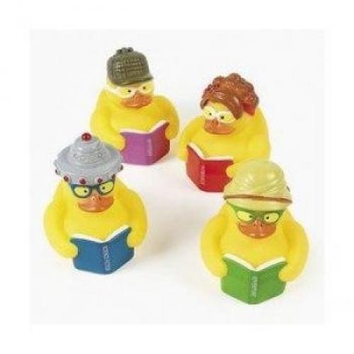 Fun Express 12 Reading Rubber Ducks